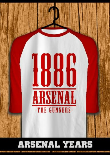 ourkios  - Arsenal Years raglan