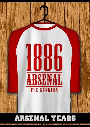 ourkios  - Arsenal Years raglan