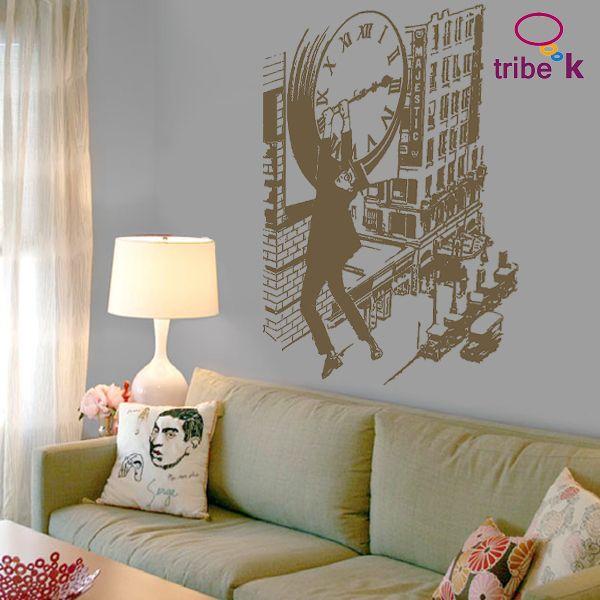 vinilo decorativo Harold Lloyd