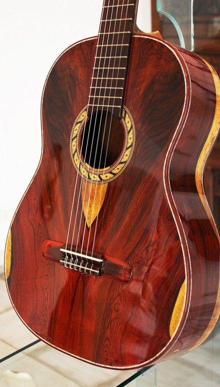 Cocobolo B&S, Cocobolo Top Hauser Concert Classical Guitar. Bellucci Guitars