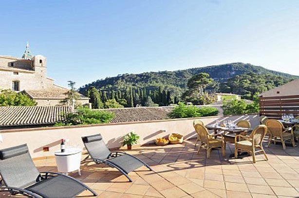 www.rentavillamallorca.com #holidayrentals #chillout #terrace #valldemossa #mallorca
