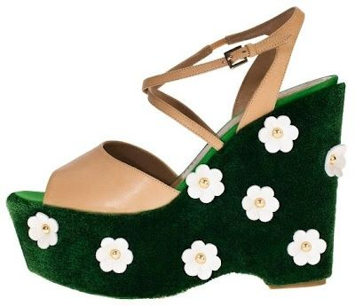 moschino cheap and chic astro turf shoes