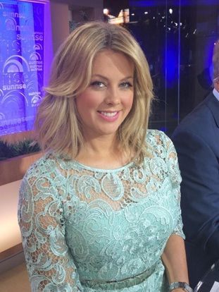 Samantha Armytage I Nikki Lace Dress I @montiquechic @Dawn Cameron-Hollyer Jones
