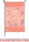 Birthday Blast Garden Flag - 4 left