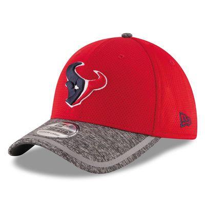 Houston Texans New Era Youth Training Camp 39THIRTY Flex Hat - Red