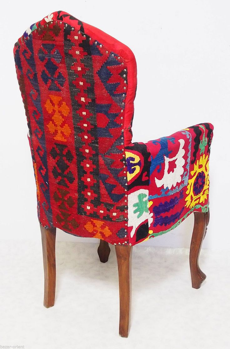 orient uzbek suzani stuhl polsterstuhl sessel sofa couch kilim chair afghanistan ebay the. Black Bedroom Furniture Sets. Home Design Ideas
