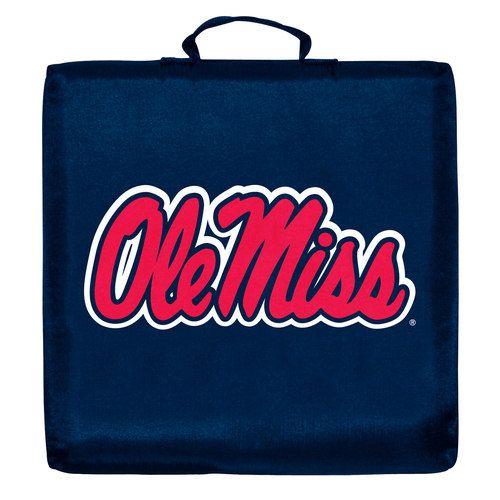Logo Brand Ole Miss Rebels Stadium Cushion