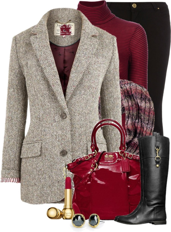 """Love'n Tweed"" by tammylo-12 on Polyvore"