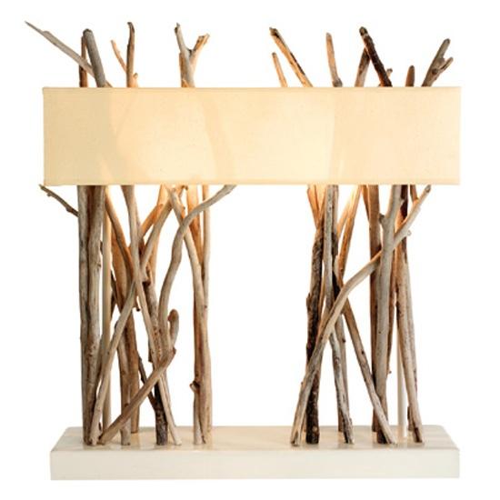 Unique Driftwood lamp