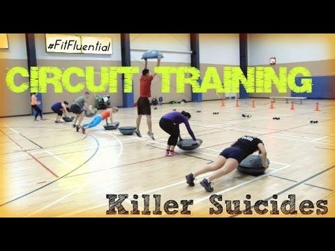 Circuit Training - Killer Suicide Drills