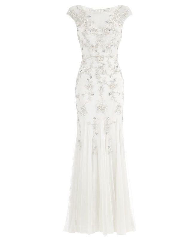 5859c7d39e63b5fa08e183ed07be19da - MONSOON- ISABELLA BRIDAL DRESS Wedding Dresses Under £1,000