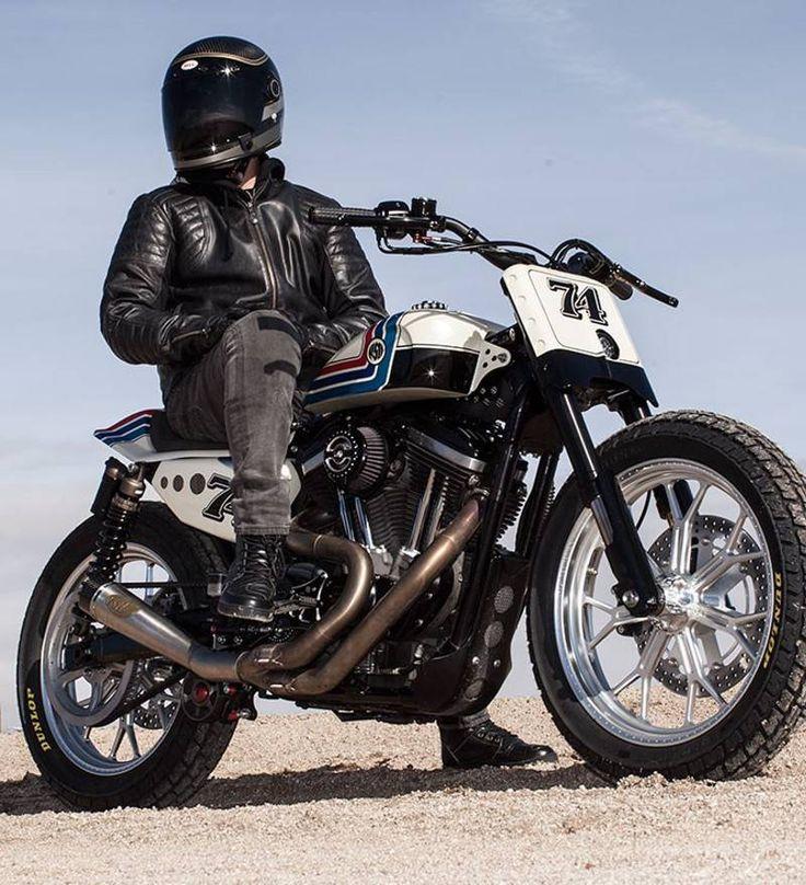 Veste de moto marron vintage
