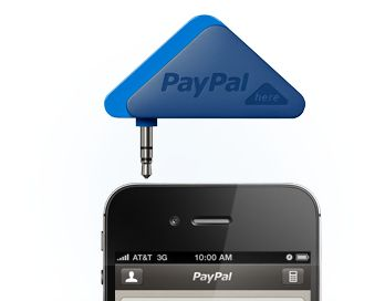 PayPal credit card reader.  Another must have for small business owners.  www.pa…
