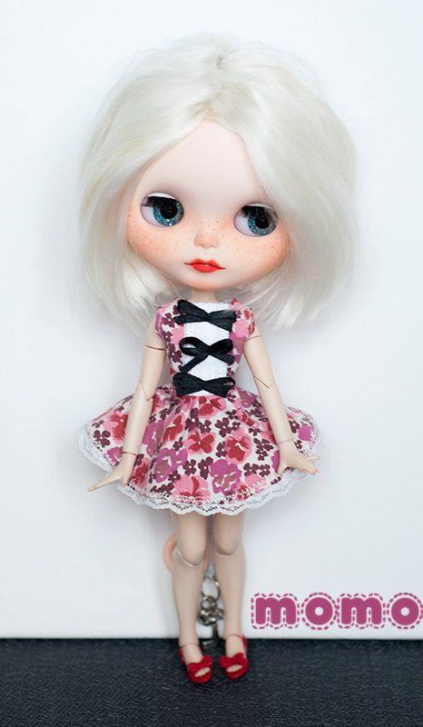 Blythe květinové šaty s krajkou a luky% sleva