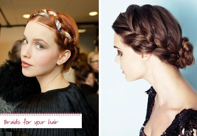 Braids for your wedding hair or wedding decor