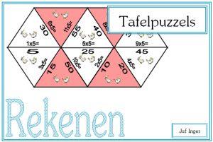 Tafelpuzzels - Juf Inger