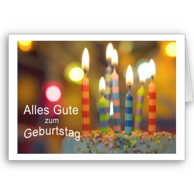 16 best images about Multi Language Birthday Cards – Birthday Card in German