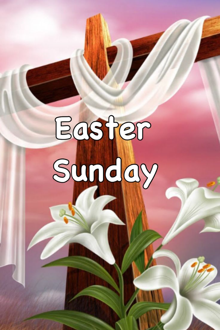 Easter And Palm Sunday Crosses Scenes Stickers