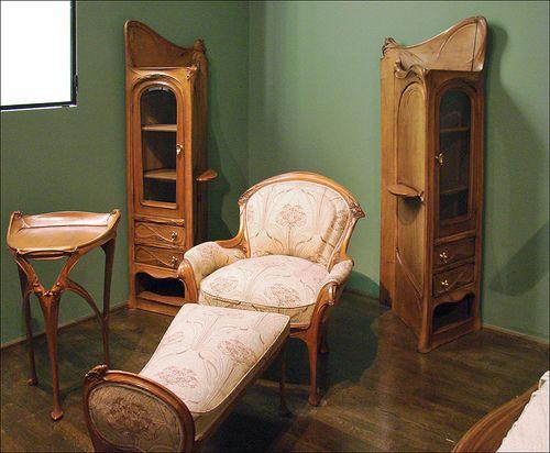 Hector Guimard (Musée des arts décoratifs, Paris) by dalbera, via Flickr