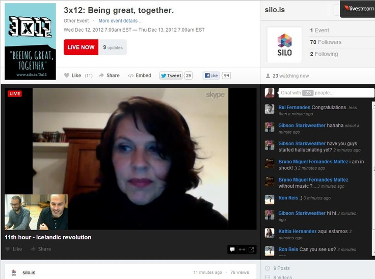 Birgitta Jónsdóttir #Iceland #3x12 #silo #colab