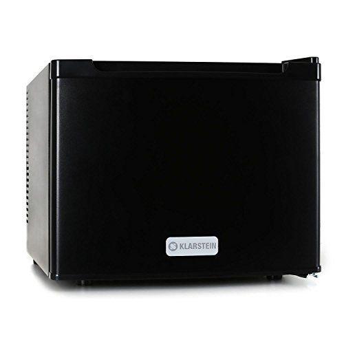 Klarstein Manhattan Mini frigo silencieux (idéal pour chambres, hôtels, restaurants, poids léger, capacité de 35L, acier inoxydable, 2…