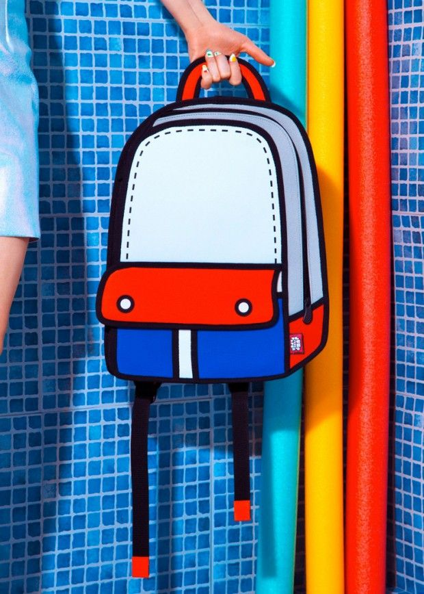Collection de sacs par Jump From Paper - Journal du Design