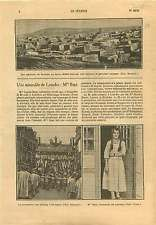 Garnison Soueïda Syrie As-Suwayda Druze Syria/Miracle Lourdes 1925 ILLUSTRATION