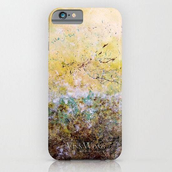 The best quality forest inspired yellow and green abstract phone case design for iPhone 6, iPhone 5S/C, iPod Touch, Galaxy s6/s5/s4 | International Shipping | Full collection www.vinnwong.com | Click to Shop or Pin it For Later!