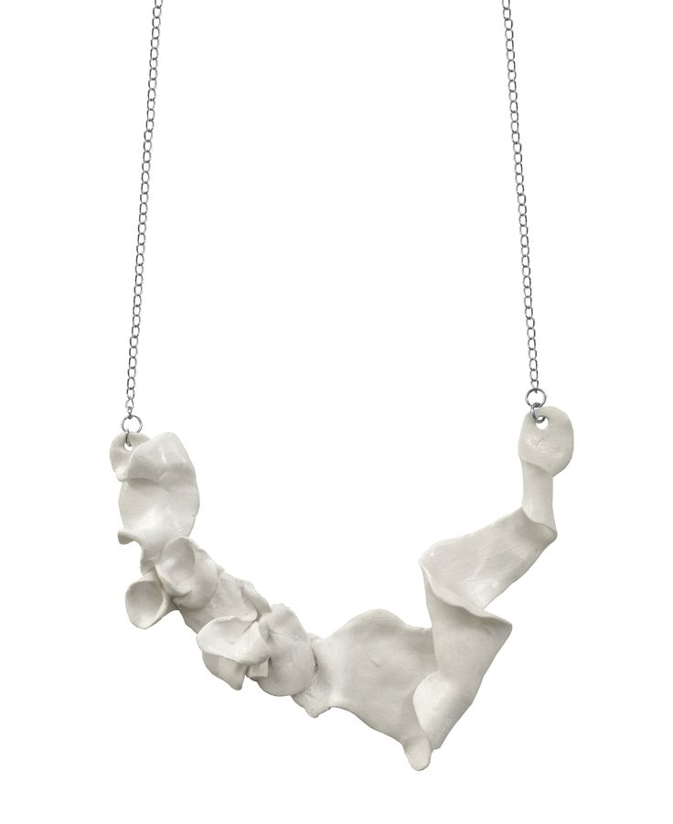 Unique jewelry design! Clay necklace by Nouseva Myrsky. http://shop.nousevamyrsky.fi #design #jewelry