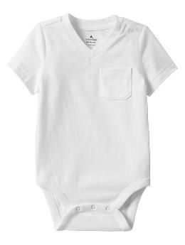 Absolutely adore these vneck bodysuits. They have henley style also! LOVE baby gap