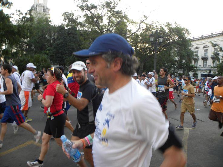 Corriendo la maratón