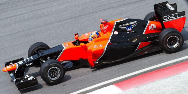 2012 GP Malezji (Timo Glock) Marussia MR01 - Cosworth