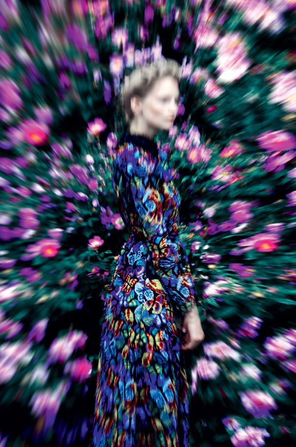 Katrin Thormann. Photo: Erik Madigan Heck for Harper's Bazaar UK, Spetember 2014.