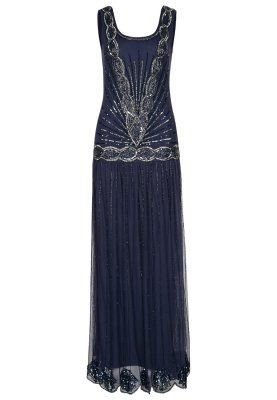 Women's 1920 Downton Abbey Inspired Clothing Navy Blue.......still my all time favorite.
