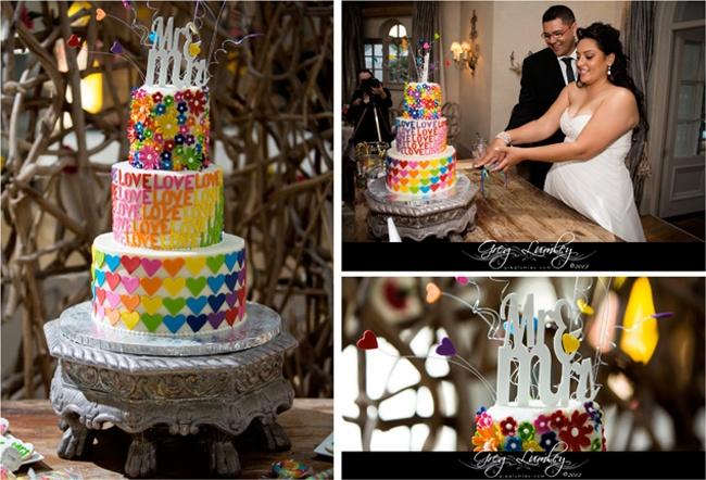 LOVE! weddings @ Pure ~ Greg Lumley Photography & Charly's Bakery Cake
