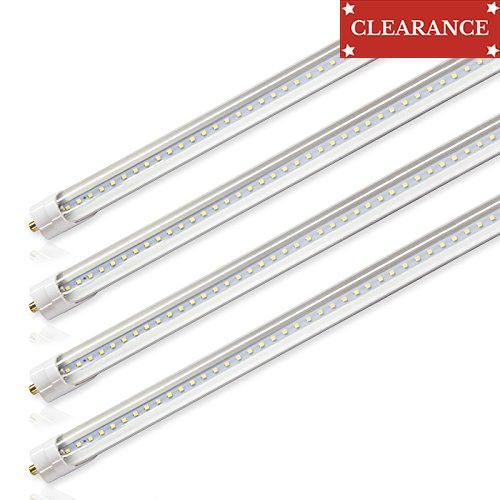 "#christmasshopping #Kihung T8 LED Light Tube * Bulb Type: T8 LED Tube * Power: 36W (90W fluorescent tube light equivalent) * Length: 8ft, 96"" (2.4M) * Color Temp..."