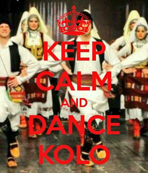 Serbian dance!, the Kolo, live it