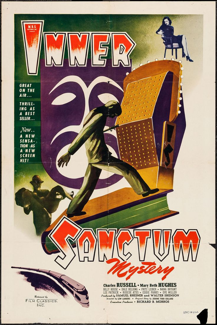 "Movie Posters:Mystery, Inner Sanctum (Film Classics, Inc., 1948). One Sheet (27"" X 41"").Mystery.. ... Image #1"