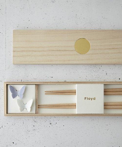 《Floyd(フロイド)》 Butterfly rest&chopstick夫婦セット(カトラリー)|IDEA(イデア)のファッション通販 - ZOZOTOWN