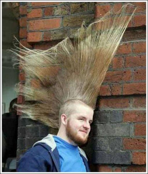 Sail away, sail away, sail away....  I've had a really, really bad hair day!