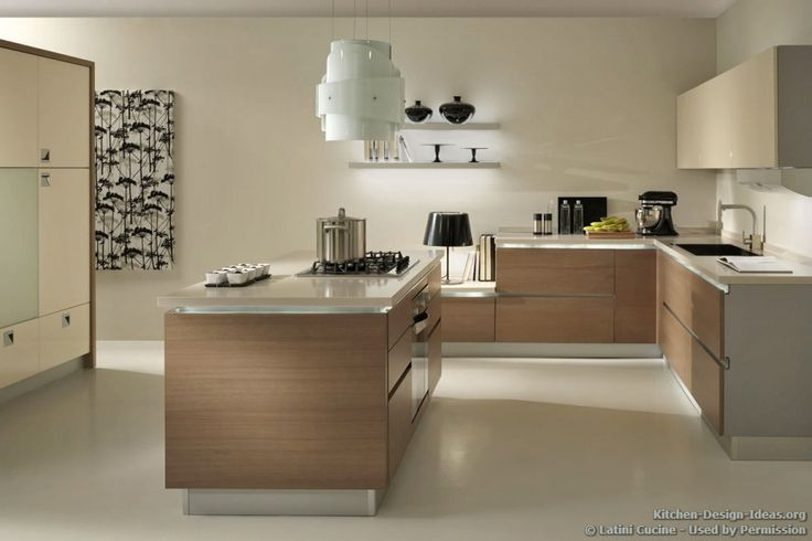 Kitchen Idea of the Day Soft tones and light wood cabinets make