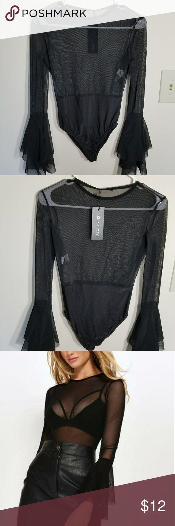 Lace bodysuit i saw it first   best My Posh Closet images on Pinterest  Long dress patterns
