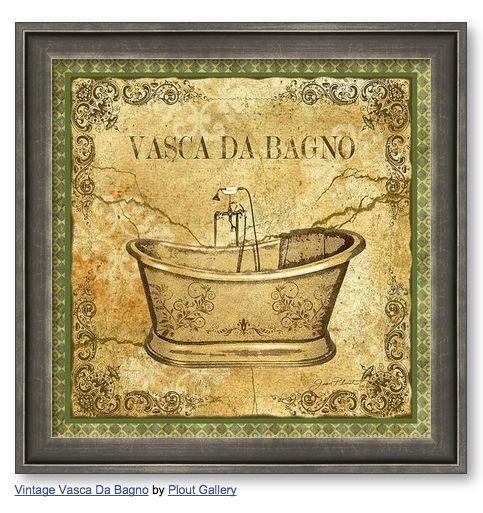 Oltre 1000 idee su vasca da bagno vintage su pinterest vasca da bagno con piedi a zampa di - Vasca da bagno retro ...