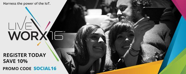 PTC ‏@PTC  9 min How do you convince your boss to send you to #LiveWorx? These testimonials will help ► ttp://ptc-iot.com/IAvF2BP  #IoT