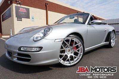 2007 Porsche 911 2007 Porsche 911 Carrera 997 Convertible 07 Silver Porsche 911 Carrera 997 Convertible like 2005 2006 2008 2009 2010 2011
