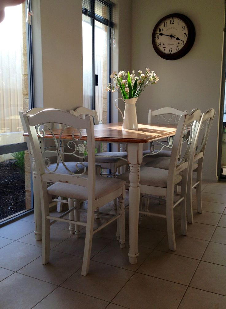Shabby Chic Dining Room: 17 Best Shabby Chic Dining Table Images On Pinterest