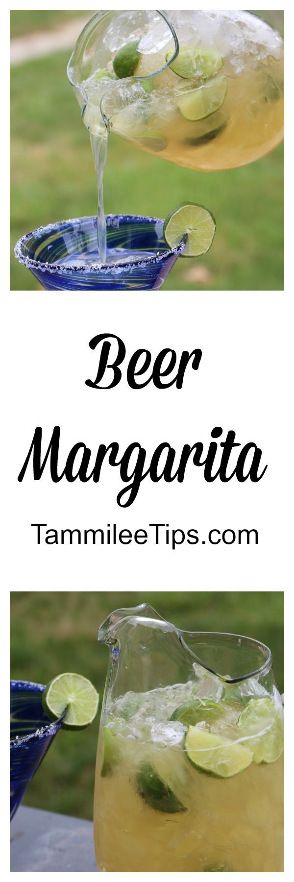 Delicious Beer Margarita Recipe! Perfect beer cocktail for a hot summer day!