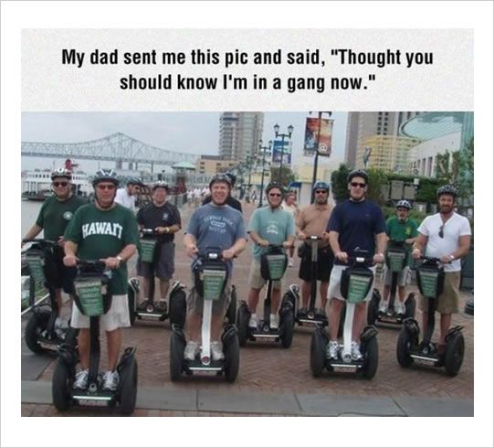 dad's in a gang funny