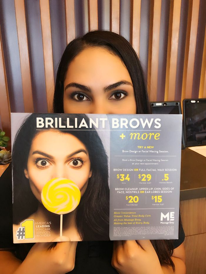 Get Brilliant Brows More With Our New Brow Design And Facial Waxing Sessions Contact Us 3 Massageenvyhi Eyebr Massage Envy Spa Massage Envy Facial Waxing