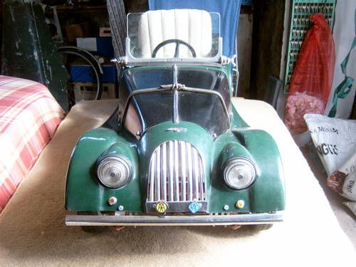 Rare Morgan Pedal Car SOLD (1960)